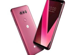 Ya está disponible el LG V30 Pink en España